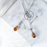 Pipa - Chinese Lute - Enamel Earrings - 925 Silver