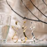 Fly - 925 Silver Earrings