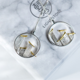 Huizhou - Creative 925 Silver Earrings