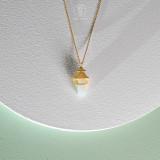 Light Green Fairy - Shelter - Hetian Jade Necklace