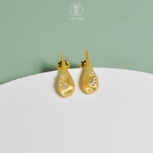 Happiness - 925 Silver Earrings