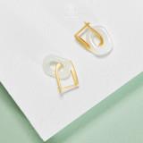 Oval Circle - Jadeite 925 Sterling Silver Earrings
