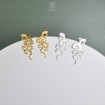 Lucky Clouds  - 925 Sterling Silver Earrings