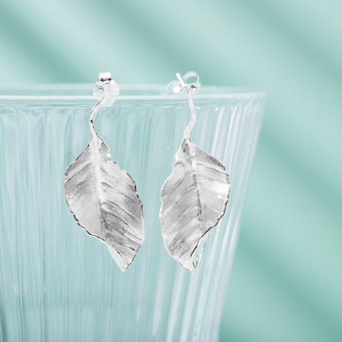 Leaves' World -  Sterling Silver Earrings