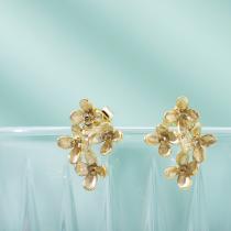 Osmanthus - Sterling Silver Earrings