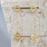 Sunrise - Silk Road - Sterling Silver Earrings