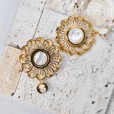 Wave - Silk Road - Mother of Pearl - Sterling Silver Earrings   Online Shop   Light Stone Jewellery