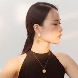 Lotus - Silk Road - Mother of Pearl- Luxury Sterling Silver Earrings