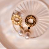 Sunrise - Silk Road - Freshwater Pearls - Sterling Silver Earrings