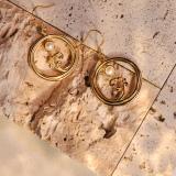 Moon Over Sea- Silk Road - Freshwater Pearls - Luxury Sterling Silver Earrings