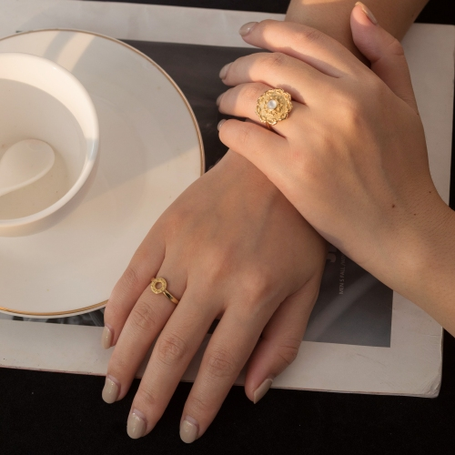 Sunrise - Silk Road - Sterling Silver Ring