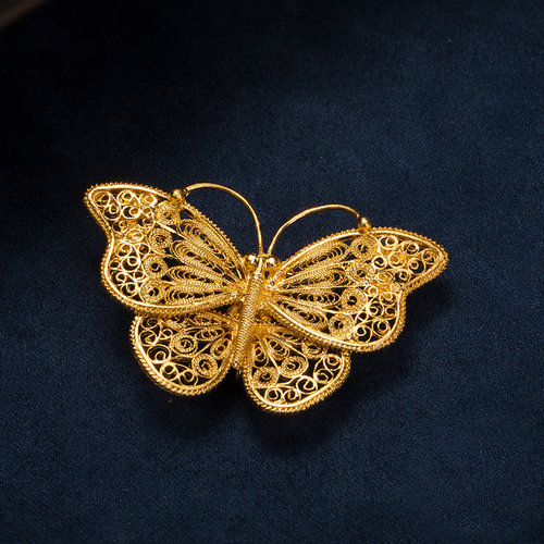Butterfly - Filigree Brooch - Fobiden City Royal Family