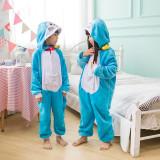 Kids Doraemon Onesie Kigurumi Pajamas Kids Animal Costumes for Unisex Children