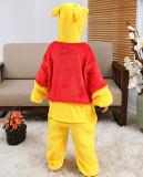 Kids Winnie the Pooh Onesie Kigurumi Pajamas Kids Animal Costumes for Unisex Children