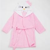 Kids Hello Kitty Soft Bathrobe Sleepwear Comfortable Loungewear