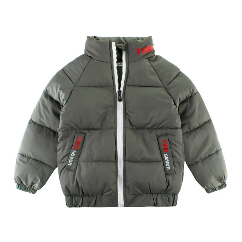 Army Toddler Boys Winter Warm Down Jacket Coat Cotton Padded Thick Outerwear