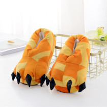 Cozy Giraffe Flannel House Monster Slippers Halloween Animal Costume Paw Claw Shoes