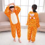 Kids Tigger Onesie Kigurumi Pajamas Kids Animal Costumes for Unisex Children