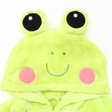 Kids Green Frog Onesie Kigurumi Pajamas Kids Animal Costumes for Unisex Children