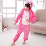 Kids Stitch Onesie Kigurumi Pajamas Kids Animal Costumes for Unisex Children