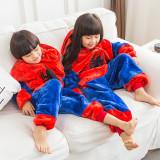 Kids Spider Man Onesie Kigurumi Pajamas Kids Animal Costumes for Unisex Children