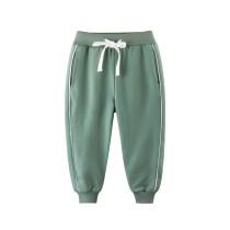 Navy Casual Simple Toddler Boys Sweatpants Sport Jogger Pants