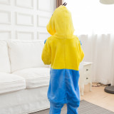 Kids Minions Onesie Kigurumi Pajamas Kids Animal Costumes for Unisex Children