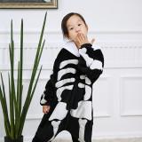 Kids Human Skeleton Onesie Kigurumi Pajamas Kids Animal Costumes for Unisex Children