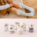 3 Pairs Baby Toddler Girls Knee-high Cartoon Animal Tube Stocking