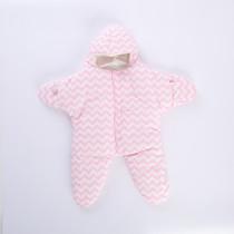 Baby Stripes Starfish Shape Plush Animal Sleeping Bag for Baby(0-1Year)