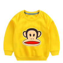Toddler Boy Print Monkey Long Sleeve Sweatshirt