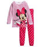Toddler Girl 2 Pieces Pajamas Sleepwear Minnie Long Sleeve Shirt & Leggings Set
