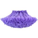 Toddler Girl Tutu Skirt Princess Fluffy Soft Chiffon Ballet Birthday Party Pettiskirt