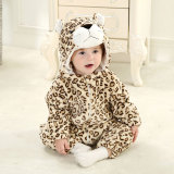 Baby Yellow Leopard Onesie Kigurumi Pajamas Kids Animal Costumes for Unisex Baby