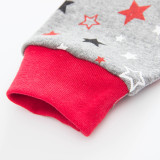 Toddler Boy 2 Pieces Pajamas Sleepwear Grey and Red Spider Man Long Sleeve Shirt & Legging Sets
