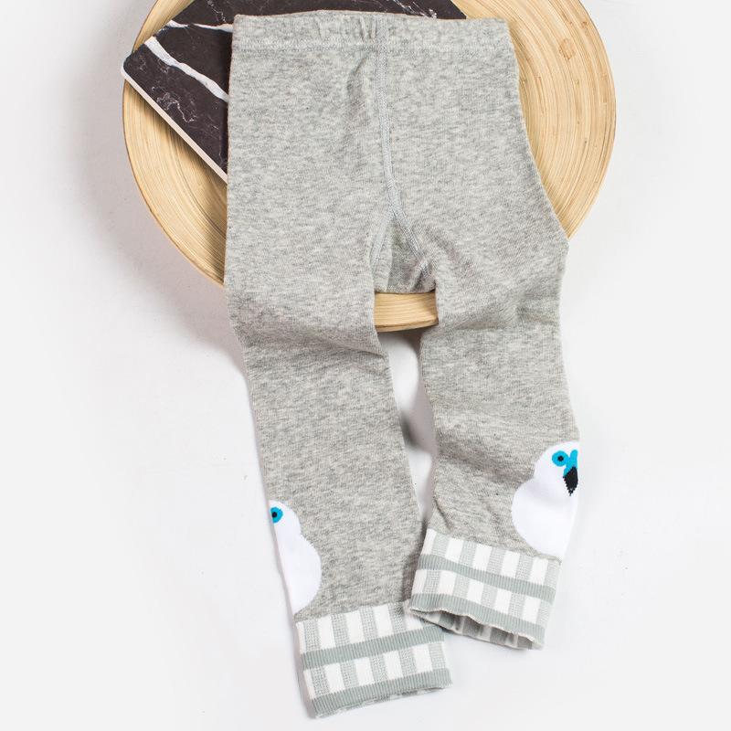 Baby Toddler Girls Tights Print Bird Warm Leggings Pants