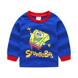 Toddler Boy 2 Pieces Pajamas Sleepwear SpongeBob Long Sleeve Shirt & Legging Sets