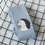 Baby Toddler Girls Tights Print Pantyhose Cotton Warm Leggings Stockings
