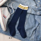 Baby Toddler Girls Knee-high Stripes Tube Stocking