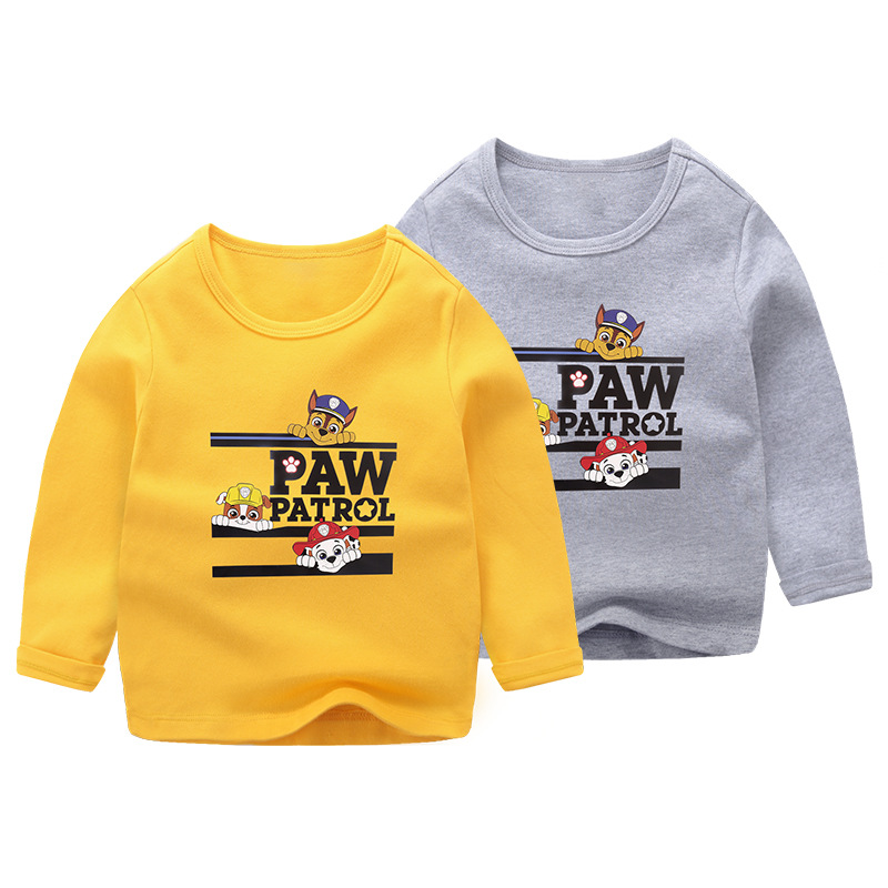 Toddler Boy Print Cartoon Dog Long Sleeve Sweatshirt