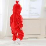Baby Red Angry Bird Onesie Kigurumi Pajamas Kids Animal Costumes for Unisex Baby