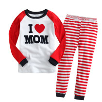 Toddler Girl 2 Pieces Pajamas Sleepwear Family Long Sleeve Shirt & Leggings Set