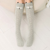 Baby Toddler Girls Knee-high Fox Cartoon Tube Stocking