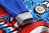 Toddler Boy 2 Pieces Pajamas Sleepwear Captain America Long Sleeve Shirt & Legging Sets
