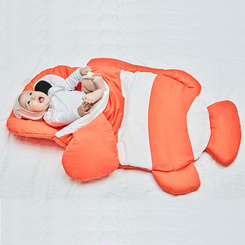 Baby Clownfish Plush Animal Sleeping Bag for Baby(0-18Month)
