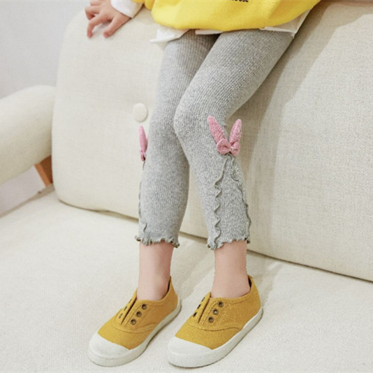 Baby Toddler Girls Tights Rabbit Ears Cotton Warm Leggings Pants