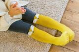 Baby Toddler Girls Winner Tights Thickening Loop Print Pantyhose Cotton Warm Leggings Stockings