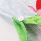Baby Peppa Pig Hooded Bathrobe Towel Bathrobe Cloak Size 24 *47