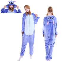 Unisex Adult Pajamas Stitch Animal Cosplay Costume Pajamas