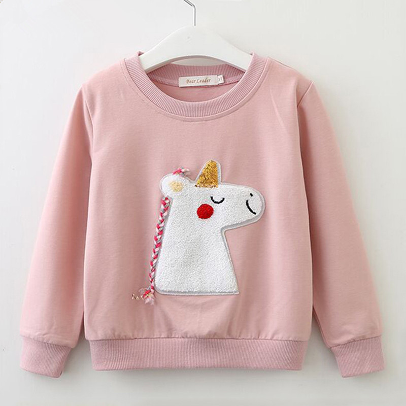 Toddler Girl Print Unicon Long Sleeve Sweatshirt